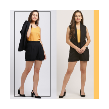 Life is too short to wear boring clothes! Get this amazing clothing set from the house of Trend Arrest! 🖤 . . . . #trendarrest #trendy #trending #trendyoutfits #shorts #jacket #camisole #fashion #fashionista #fashionworld #clothingset #followforfollow #likeforlikes #goodfeeling #positivevibes #yellow #black #colors #casual #formals #mondaymotivation #womenswear #westernwear