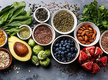What to include in Your Diet to Get Healthy & Glowing Skin Naturally?  1. Almonds: It is the best source of the fatty acids that are required for the regulation of the cell membrane and to flush out the body toxins.  2. Flax Seeds: To hydrate the body, open the pores, dilute the sebum levels and fight acne omega-3 fatty acids helps a lot, these fatty acids are hugely available in it.  3. Avacado:  The niacin levels present in the fruit gives you smooth and healthy skin and also lowers the inflammed and puffy skin area.  4. Berries: Eating good amounts of berries like blackberries, strawberries, blueberries or raspberries allow your skin to look healthy with their rich amounts of vitamin C and their antioxidant properties promotes the young looking skin and protects from inflammation.  5. Capsicum: The one amazing benefit of capsicum is that it helps to discard the crow's feet problem. The antioxidants named carotenoids present in the capsicum minimizes the wrinkle problem when it is consumed with the daily diet.  6. Yogurt: Yogurt which is favorite for many people not only tastes great but also offers many profits like preserving the skin's elastic and firmness with its rich amount of fibers and proteins.  7. Spinach: Spinach has lutein and this helps in keeping your skin and eyes sparkling and in the best of state. Spinach is also rich in Vitamin E, B and C. It even has contents of calcium, potassium, magnesium, iron, and the best of omega 3 fatty acids. These are the inclusions which make the stuff an ideal addition to the diet.  8. Walnut: Walnuts can definitely gift you with smooth skin texture. It is rich in Omega 3 fatty acid and it is even rich in Vitamin E.  #superfoods #dietfood #diet #dietplan #nutrition #nutritious #weightlosstip #weightlossjourney #weightlossfoods #health #wellness  #wellnesstips #wellnessblogger #healthyeating #healthychoices #fruits #veggies #dairyproducts #avacados #berries #healthdiet #fitnessblog #fitness #neharanjan13 #tips_beautyo