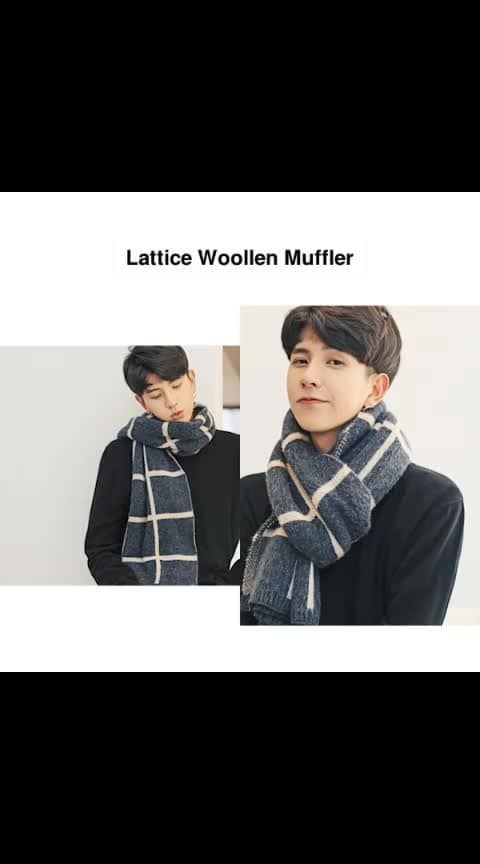 Lattice Woollen Muffler - - #fashion #style #stylish #love #photography #instapic #me #cute #photooftheday #nails #hair #beauty #beautiful #instagood #pretty #swag #pink #girl #eyes #design #model #dress #shoes #heels #styles #outfit #purse #jewelry #shopping