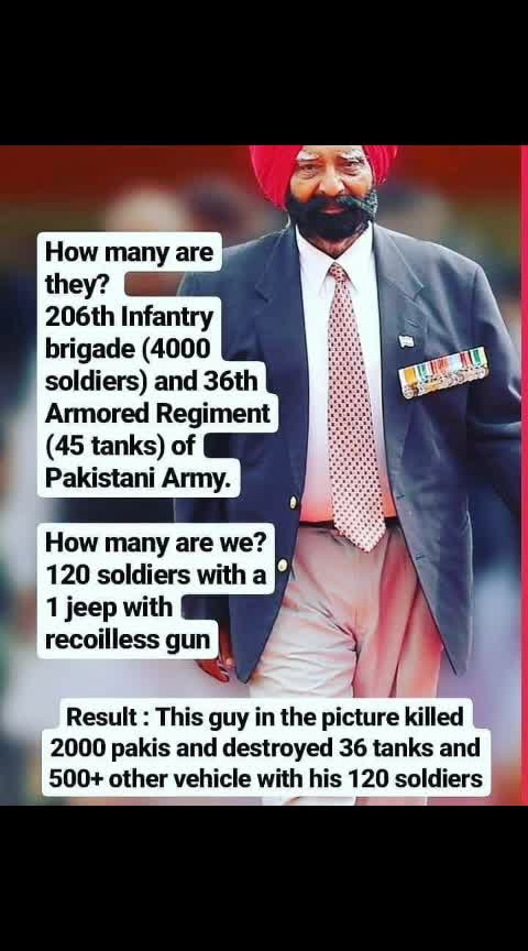 We owe you big time sir, bless us from heaven 🙏  Brigadier Kuldip Singh Chandpuri has passed away today. His role was famously played by Sunny deol in Border movie. Hero of Historic Battle of Longewala 1971 Indo-Pak war. #indianarmy   #rip  #jaihind  #trendingnowonroposo  #trendeing  #followmeonroposo #news #newonroposo