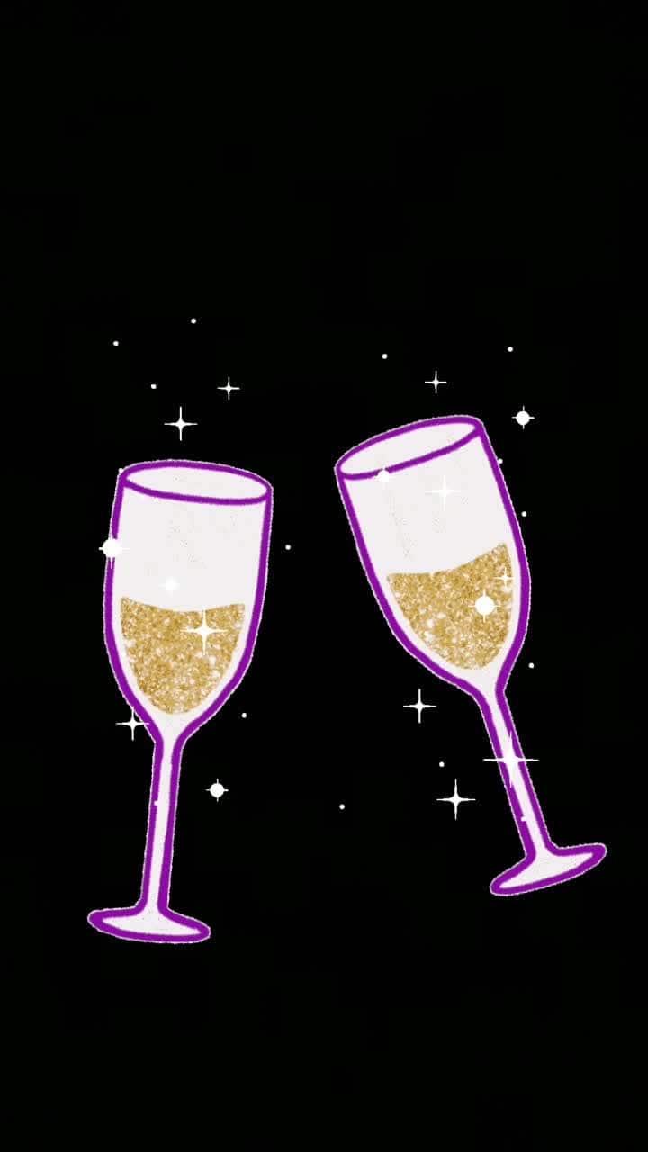 #cheers #glitter