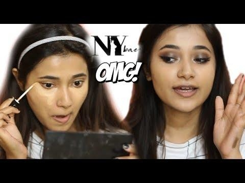 Full Face of NY Bae Products|| Review and First Impression  #indianmakeupblogger #indianbeautyblogger #nybae #nybaelipstick #nybae