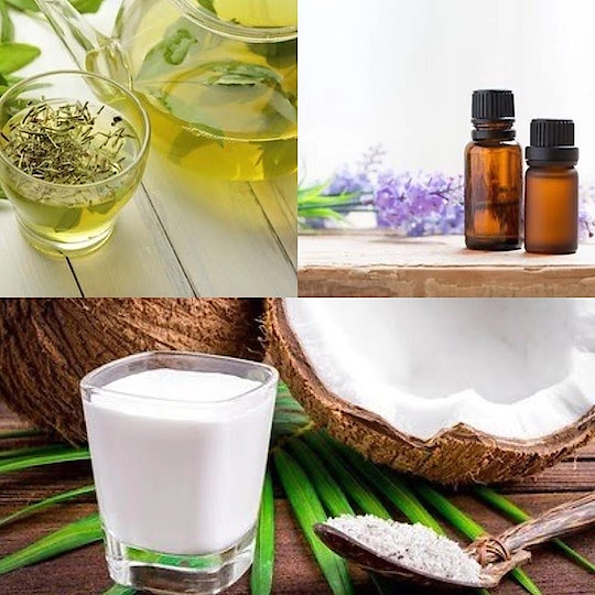 Top 3 Remedies for Long, Strong & Shiny hair: Beautiful hair is every girl's dream. But getting it by expensive spa or therapy is not everyone's wish. By the way, why to spend much if you can get it in less. Just Care your Hair with Herbal Tips & get luscious hair.  1. Coconut Milk: Get the fresh coconut milk, squeeze the juice of half of lemon & add a few drops of Olive or Lavender oil into oil. Mix it well and apply it all over your hair and scalp. Leave it for atleast one hour and then wash off with mild shampoo.   2. Green Tea: It is super rich in anti-oxidants. Pour some lukewarm green tea all over the head and leave on for an hour and then rinse with plain water in clean hair.  3. Get Oiled Up: Plenty of awesome oils are available that works wonder to your hair viz. Vitamin E Oil, Argan Oil, Lavender Oil, Rosemary oil and Jojoba Oil. Mix them with the drops of coconut oil or olive oil and give a Massage on your scalp. Leave it overnight and wash off with mild shampoo.  #hair #hair-story #hairtips #haircareroutine #haircaretips #haircareproducts #neem #neemmask #healthyhair #hairproblems #hairtreatment #hairpack #hairhacks #dandrufffreehair #dandrufftreatment #anti-dandruff #ropo-beauty #ropo-post #ropo-video #instablogger #tips_beautyou #neharanjan13 #beautyblogger #hairfallcontrol #herbalbeautyproducts #herbalproducts #herbal #homeremedies #oils #essentialoils #greentea #coconutmilk