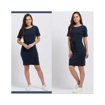 """""""The joy of dressing is an art."""" — John Galliano🌺  Get this amazing Front Corset Blue Dress only from Trend Arrest! . . . . #trendarrest #trending #trendyoutfits #trendfollowers #fashion #fashionworld #fashionista #bluedress #frontcorset #casual #followforfollow #likeforlikes #tuesdayvibes #weekdays #color #goodfeelings #postoftheday #newcollection"""
