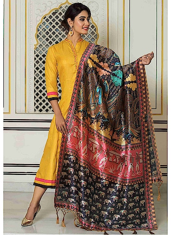 "Fabric :- South Cotton Silk Dupatta Fabric :- Chanderi Silk Dupatta Work :- Digital Printed Size :- 38"",40"",42"",44""  Buy Now :- https://tinyurl.com/y7cysrlj  Whats App :- +91 7621863000  #kurti #partywear #casualwear #designer #indianwear"