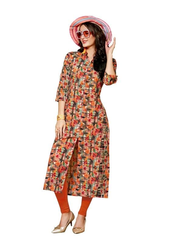 Unlock The Secret Of Ultimate Comfort Wearing This Multi Coloured Printed Kurti. Made From Linen, This Kurta Is Light In Weight And Perfect For Daily Wear. This Attractive Kurta Will Surely Fetch You Compliments For Your Rich Sense Of Style.  ✔ #My #Fashion #Aura #Multi #Colored #Linen #Kurti ✔ Shop https://bit.ly/2A8of7q ✔ Price: Rs. 1349/- ✔ Product Code: 1377-26809 ✔ Call or Whatsapp: 9582775828