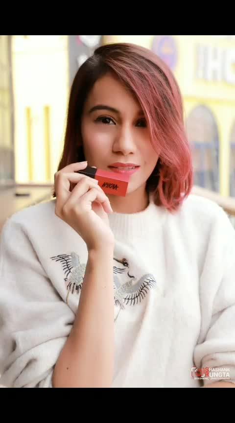 Nykaa's New launch. Ultra Matte Lipsticks  #blogger #ropo-beauty #beautyblogger #lipstickaddict #lipstick #swatches