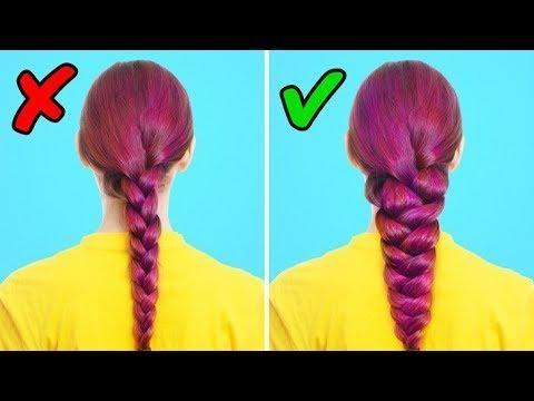 25 SIMPLE HAIRSTYLES