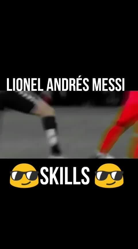 Lionel Andrés Messi skills #roposofootball #ropososports #roposo_sportstv #lionelmessi #roposobeats