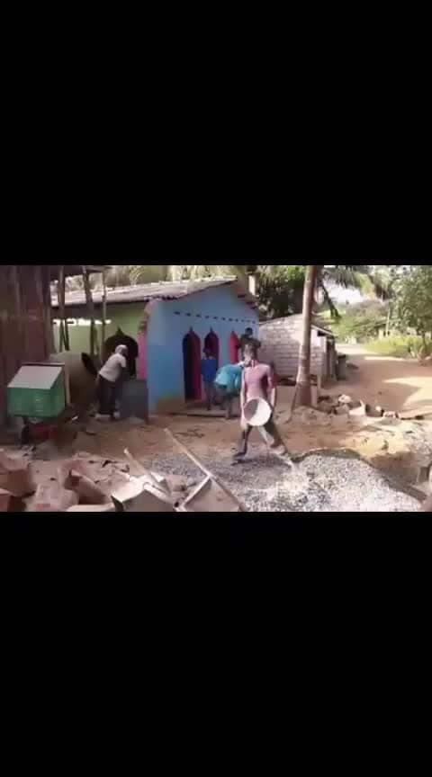 am a building contractor in Karnataka {INDIA} Never seen this type of work, best team work, team work always Rock's.  #teamwork #civil contractor's #civilengineering #civilengineers #as a civil engineer #civil #kannada #kannadalove #construction #karnataka #engineeringlife