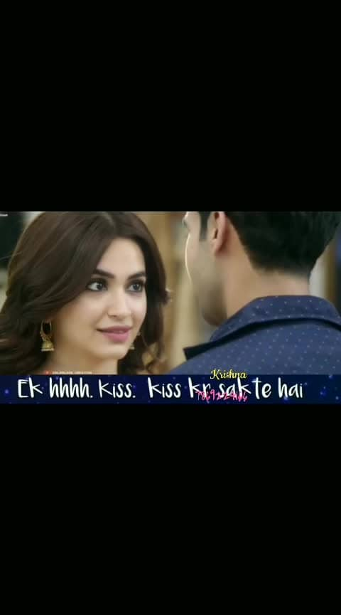 Main to tere naal hi raina ji #shadimeinzarooraana  #bollywoodcollection #love #kissing #kiss #rajkumarrao #kritikharbanda #