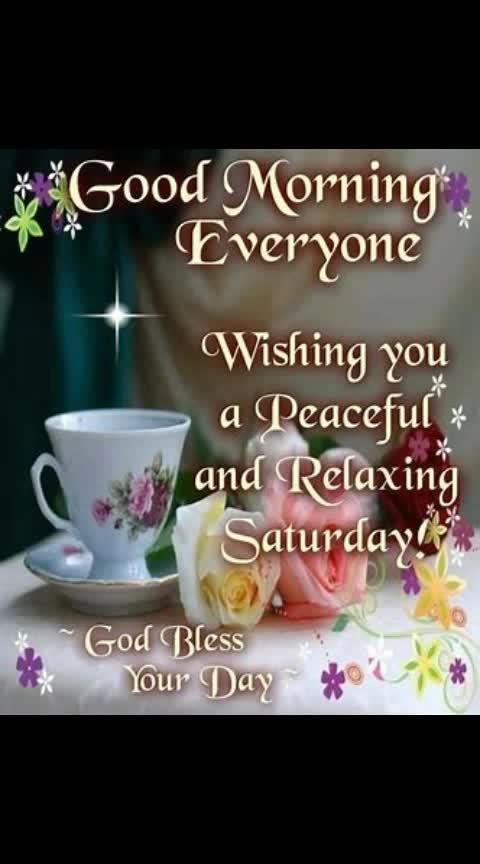 #goodmorning-roposo #saturdaypost #saturdaymorning