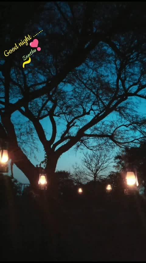 Shubharaathri 🌃😴. ...  #goodnight  #wow  #beautifulcapture #nightphotography  #bestcaptures #natureslove