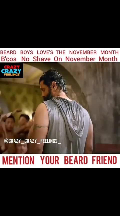 No shave November for all the beard boys #bearded-men #beardlove #noshavenovember