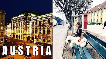 AUSTRIA | VIENNA | SCHONRBURNN PALACE OPERA NIGHT | #vienna #austria #travelvlog #vlog