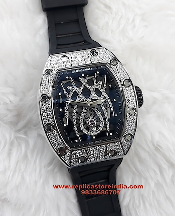 Richard Mille 19-01 Spyder Silver & Diamond Swiss ETA Watch RS. 24999/- https://replicastoreindia.com/   Replica First Copy Watches   CASH ON DELIVERY ALL OVER INDIA   Contact Us - 9833686707 Email- Info@replicastoreindia.com   We Are Top Rated Replica First Copy Watches Dealer in India We Truly Believe In Quality We Sell Top Quality Swiss Made Replica First Copy Watches To Our Customers & Provide Best Customer Service  Free Shipping | Cash On Delivery | Easy Returns. #mystylemantra #look #styleblogger #fashionista #instagram #photography #women-fashion #womensfashion #shopping #onlineshopping #wedding #summerfashion #youtuber #black #trendy #makeup #beautiful #mumbai #cool #summer-style #loveyourself #style #ootd #model #followme #summerstyle #indianblogger #ethnic #myfirststory #fashionblogger #look #ropo-good #dress #india #indianblogger #shopping #shoes #model #mystylemantra #newdp #trendy #ropo-love #summer-style #roposogal #myfirstpost #swag #summerfashion #soroposo #desi #loveyourself #onlineshopping #roposolove #love #aselfieaday #springsummer #fashiondiaries #fun #ootd #makeup #beauty #ootd #outfitoftheday #lookoftheday #TagsForLikes #fashion #fashiongram #style #love #beautiful  #ootdshare #outfit #clothes #currentlywearing #lookbook #wiwt #whatiwore #whatiworetoday #wiw #creativespace #rx100  #partystarter #thehappyone #weekend  #mystylemantra #look #styleblogger #fashionista #instagram #photography #creativespacechannel #womensfashion #shopping #onlineshopping #wedding #summerfashion #youtuber #black #trendy #makeup #beautiful #mumbai #cool #summer-style #loveyourself #style #ootd #model #followme #summerstyle #indianblogger #ethnic #myfirststory #fashionblogger #look #ropo-good #dress #india #indianblogger #shopping #shoes #model #mystylemantra #newdp #trendy #ropo-love #summer-style #roposogal #myfirstpost #swag #summerfashion #soroposo #desi #loveyourself #onlineshopping   #romanticplace #songs