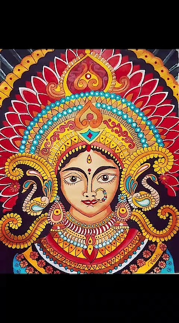 durga maa painting..  #art #illustration #drawing #draw #picture #artist #sketch #sketchbook #paper #pen #pencil #beautiful #instagood #gallery #masterpiece #creative #photooftheday  #graphic #graphics #artoftheday #painting #creativeminds #thetimeline #thetimelinecontest #thecreativespace#bestpainting #bestpainting #watercolor #acrylicpainting #oilpainting