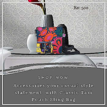 Accessorise your casual style statement with Pouch Sling Bag , design is inspired from taxis of Shekhawati. This quirky and chick pouch sling bag will surely jazz up your appearance. A stylish pouch sling bag, made from high quality canvas fabrics with an adjustable strap and a zip closure is sure to fetch you oodles of compliments from your friends #slingbag #canvasbag #sikar #designerbag #onlineshopping #buyonline #fashion #handbags #designerproducts #bagslover #indiandesigner #instafashion #instastyle #bags #Womens #jaipur #streetstyle #fashionista #quirkyfashion #quirkyaccessories #slingbag      https://www.fatfatiya.in/sling-bags.html https://www.fatfatiya.in/