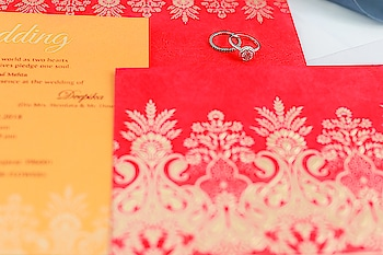 Brick red color #emboss #weddingcard made from finest #quality matte #paper best for every type of #wedding #celebration. Product Code: D-1780 Price: Only $0.90 Also, save 30%, Use Coupon: CHRISTMAS30 Shop Now: https://www.123weddingcards.com/card-detail/D-1780