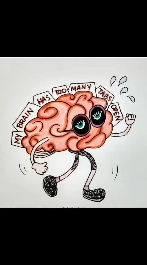 drawing of brain is like yeh kya ho raha hai.. #abstract #art #abstractart #abstracters_anonymous #abstract_buff #abstraction #instagood #creative #artsy #beautiful #photooftheday #abstracto #stayabstract #instaabstract