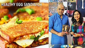 Enjoy a very healthy and tasty Spicy Egg Sandwich recipe today.. It's a good protein packed and anti incident rich breakfast option..Do try it.. #ropo-love #ropo-good #ropo-style #roposo #ropo-post #ropo #recipe #recipes #recipeoftheday #cooking #ropo-foodie #foodiesofindia #breakfast #snacks #sandwich