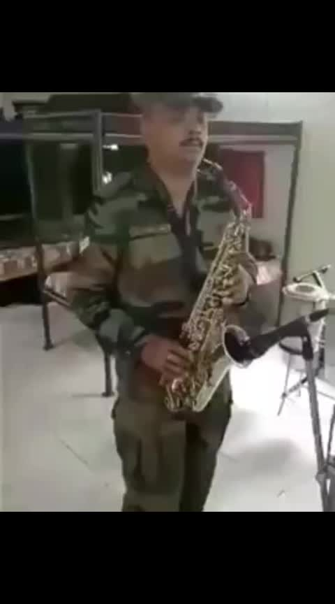 #army #trumpet #indianarmy #talenthunt #roposo-telent