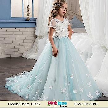 Kids Party Wear Wedding Gown - Butterfly Flower Girl Dress Online Contact: +918000011699 Shop Now: https://www.pinkblueindia.com/birthday-dress-for-teenage-indian-girls-10-16-years.html  #babydress #kidspartyweardress #dresses #eveningdress #babygirls #weddingdress #teenager #birthdayparty #flowergirldress #longgowns #floorlengthdress #princessdress #flowergirl #flowergirldresses #kids #kidsfashion #customize #onlineshopping #PinkBlueIndia