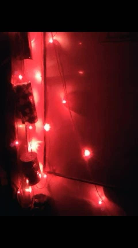 bin tere kya hai jeena.... fav song😘❤💗 #love  #truelove  #song  #roomdecor  #bulbs  #diwalispecial  #night