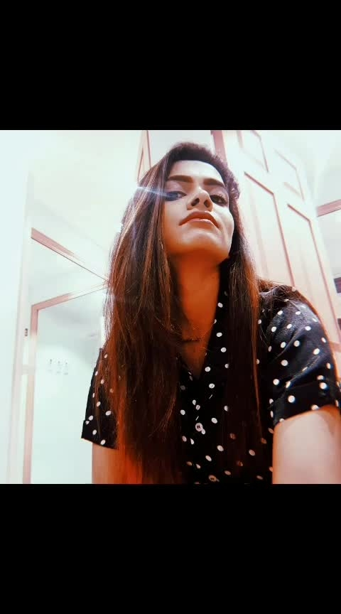 #fashionoftheday #polkadots #pose #selfie #december #2018 #postoftheday #selfportrait #bitch #bitchmode #bitchface  #restingbitchface #restingbitchfaceproblems #hujicam #instagood #bloggers #influencer #fashionblogger #indianfashionblogger #aashimalamba #thebasicrebel