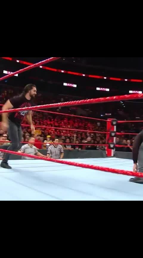 Seth Rollins attacked by Dean Ambrose #wwe #sethrollins #deanambrose