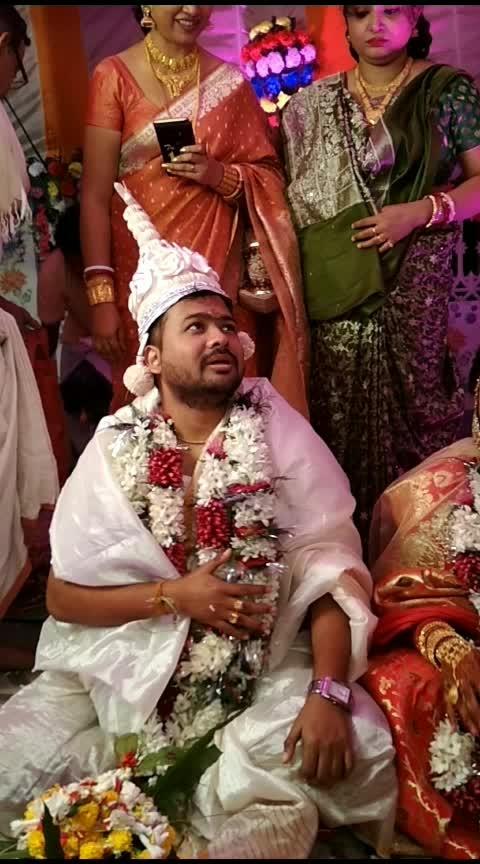 Wedding season bengali Wedding  @roposo @wedding @roposocontests  #wedding #wedding-bride #wedding-outfits #wedding-suits-designer