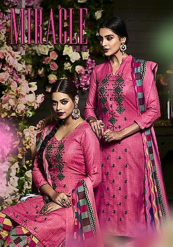 Sargam Miracle Vol 2 Pashmina Wholesale Dress Materials Price per Piece :- ₹695 + ₹35 (GST 5%) MOQ :- 8 Pcs  Top :- PURE PASHMINA Bottom :- PASHMINA PRINT  Dupatta :- Pure Pashmina  Upcoming Date :- 10/12/2018 Product link :- https://castillofab.com/sargam-prints-miracle-vol-2-pashmina-dress-material-manufacturer -------------------------------------------------------- Call/whatsapp :- +91 8530 23 23 30 Visit our website :- www.castillofab.com -------------------------------------------------------- #dress #dressmaterial #fancydress #printeddress #cottondress #wholesaledress #indianwear #dailywear #weddingwear #topdressbrands #longdress #maxidress #womandress #beautifuldress #suratdress #winterdress #pashminadress #wintercollection