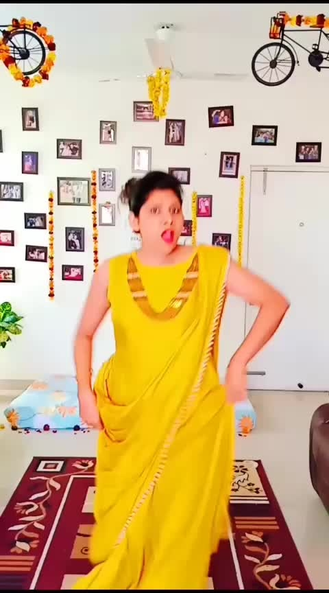 Dance like a pro #pre-wedding #haldiceremony #bridedanceperformance #anniversaryspecial #yellowdress #crazygirl #roposo-beats #beatschannel #tvbythepeople #desi-dance #indiandress