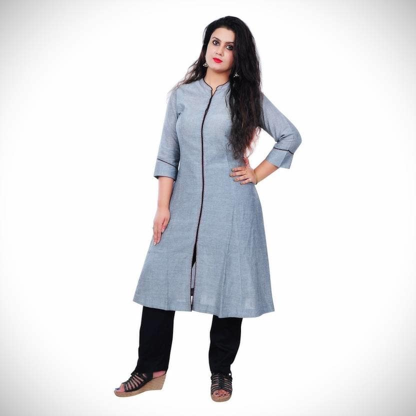 VV Casual Solid Women Kurti  (Grey) Product link:-https://bit.ly/2BObYqs  Click for more option:-https://bit.ly/2DMgTcX  #kuerti #womenkurti #casualkueri #officewearkurti #designerkurti #cottonkurti