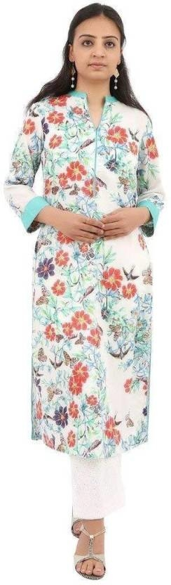 VV Casual Floral Print Women Kurti  (Orange) Product link:-https://bit.ly/2KAeMug  Click for more option:-https://bit.ly/2DMgTcX  #kuerti #womenkurti #casualkueri #officewearkurti #designerkurti #cottonkurti