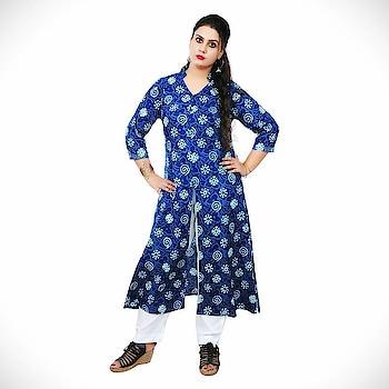 VV Casual Floral Print Women Kurti  (Blue) Product link:-https://bit.ly/2DZs4Qu  Click for more option:-https://bit.ly/2DMgTcX  #kuerti #womenkurti #casualkueri #officewearkurti #designerkurti #cottonkurti