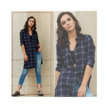 Get this Street Style look only from the House of Trend Arrest!🔥 #longplaidshirt #denim . . . . #trendarrest #trending #trendfollowers #streetstyle #lookoftheday #longplaid #shirt #denims #jeans #casual #models #modelslife #fashion #fashionista #fashionworld #color #blue #followforfollow #likeforlikes #instalikes #tuesdayvibes #weekday #positivity #confident #bold #postoftheday