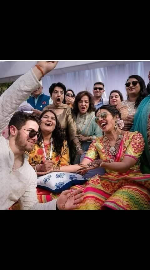 #nickyankawedding #bride-lehenga #groom #priyankachopra #nickjonas #mehandi #ceremony #jodhpur #ummedpalace #grandwedding #beautifulpics