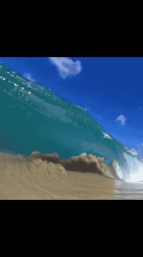 #slowmotion #waves #sea #wow #awesome