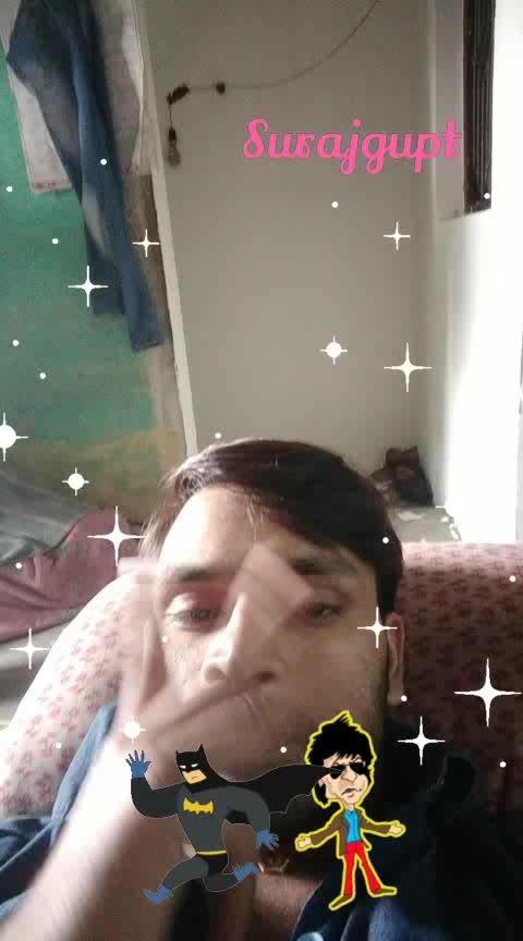 surajguptagupta7096@gmail.com #glitter #srk #batmanrunning