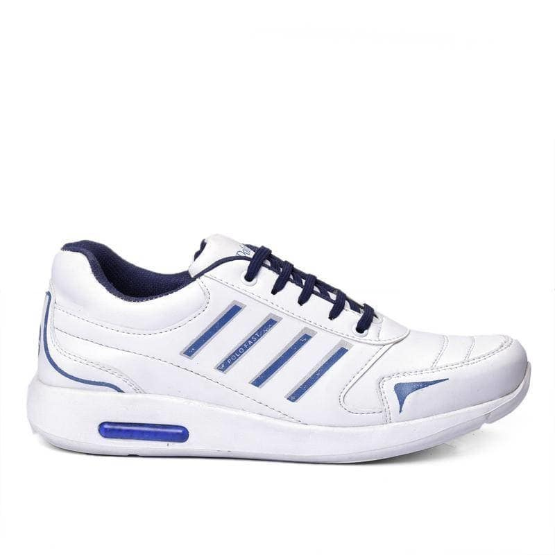 WHITE TEXTURED RUNNING SHOES    PRODUCT DETAILS Color: White Type: Sports Shoes Style: Textured Design Type: Running Shoes Material: Synthetic     SHIPPING & DELIVERY Shipping Charges: FREE Delivery: Within 6-8 business days SIZE CHART FOR WHITE TEXTURED RUNNING SHOES SizeFoot Length  (cm) UK623.6 UK724.4 UK825.2 UK926.0 UK1026.8