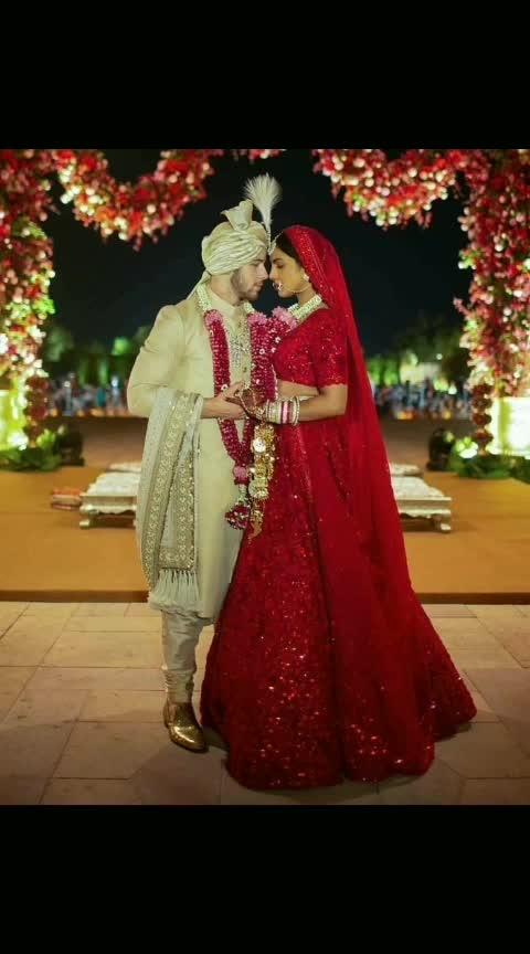 #congratulations  to #newlyweds  #couple  #nickyanka #priyankachopra #nickjonas #nickyankawedding #beautiful