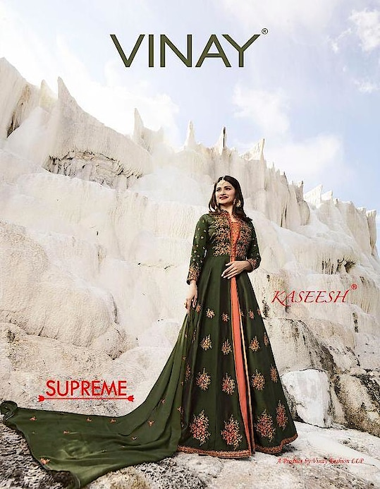 Vinay Kaseesh Supreme Heavy Wholesale Gown Collection Price per Piece :- ₹2,295 + ₹115 (GST 5%) MOQ :- 7 Pcs  Top :- Fancy Upcoming Date :- 14/12/2018 Product link :- https://castillofab.com/vinay-kaseesh-supreme-heavy-gown-wholesale-catalog-collection -------------------------------------------------------- Call/whatsapp :- +91 8530 23 23 30 Visit our website :- www.castillofab.com -------------------------------------------------------- #gown #designergown #heavygown #longgown #simplegown #plaingown #bluegown #blackgown #latestgown #gowndesign #onlinegowns #gownatbestprice #suratgown #onlineshopping #wholesale #export #castillofab