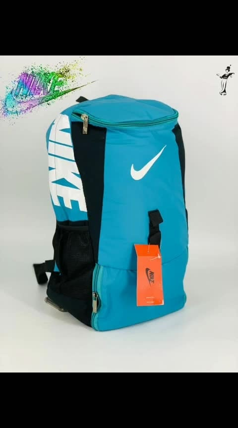 *_🎒NIKE _* *_🎒3 CHAIN COMPARTMENTS_* *_🎒BEST QUALITY BAGS EVER_* *_🎒WATER BOTTLE SLOT GIVEN_* *_🎒LAPTOP COMPARTMENT GIVEN_* *_🎒SIZE18x14INCH_* *_🎒@₹599+80_*  #creativespace #rx100 #partystarter #thehappyone #weekend #thecomedian #drama #romantic #natural #super #filmistaanchannel #loveness #song #bff #indianwear #photography #telugu #kannada #rainbow #aboutlastnight #sad #letsnaacho #shaadiseason #food #share #girls #happyvibes #rocknroll #eating #tvbythepeople