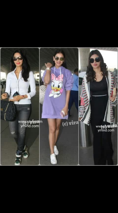 💜 STYLE ON MY MIND 💜  Airport glamour 🤩🚄🚄🤩 . #airportlook #airportstyle #airportfashion #fashion#women-fashion #streetlook #streetwearfashion #casualwear #comfortfashion #casualvibes #glamour#glamourouslooks #glamourandstyle #trendsetter #trend-alert #be-in-trend #style-file #roposo-style #stylediva #celebstyle #celebrity_fashion #roposofashionandmakeupdiaries #roposofashionbloggernetwork #ropo-fashion