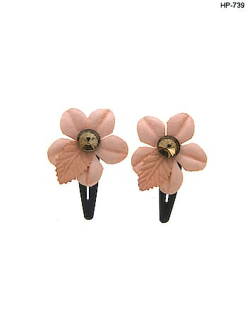 """A lovely new floral hair clip has been added to our """"Hair Accessories"""". Anuradha Art Jewellery offers beautiful collections of Floral and fancy hair clip. To see more designs click on this link: http://bit.ly/2PleOH5  #hairaccessories #hairclippers  #headband #hairjewelry  #weddinghairaccessories  #flowerhairclips #bridalhairaccessories  #hairaccessoriesforwomen  #hairpins #clipsforhair  #bobbypins #haircomb  #smallhairclips #tictocpins  #hairflower #hairstyles  #hairbun #sidepin #tictocpins  #anuradhaartjewellery"""