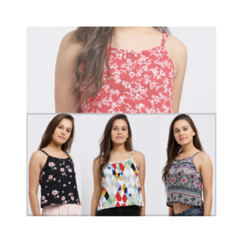 Get these cute printed camisoles from the House of Trend Arrest...🌺 . . . . #trendarrest #trending #trendfollowers #trendyoutfits #colorful #beautiful #printed #floral #geometric #multicolor #casual #sweet #pretty #womenswear #western #fashion #fashionworld #fashionista #fashionmodels #followforfollow #likeforlikes #instafollowers #saturdayvibes #weekend #postoftheday
