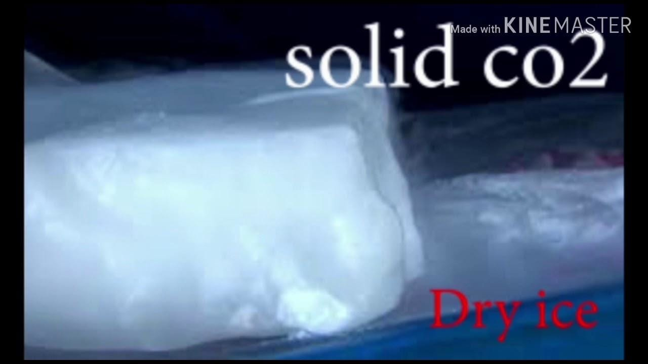 Dryice గురించి తెలియని కొన్ని నిజాలు