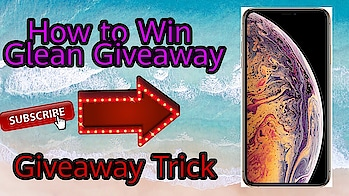 #Giveaway #Giveawaytips How to Win Gleam Giveaway , Trick to win Any Giveaway , Get Giveaway App