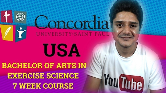 Bachelor of arts in exercise science 7 weeks online course-Concordia University, St. Paul Our website-https://www.vikasfitnessguide.com #exercisetips #exercise-to-health #exercising #onlineearning #sportstvchannel #sports #sportscience #degree #fitness #fitnessgoals #university